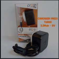 CARGADOR 220 MICRO USB 3.0 9V TURBO PRO21