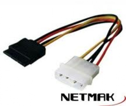 CABLE SATA POWER NETMAK - C05