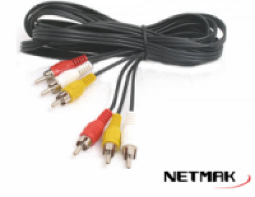 CABLE 3 RCA A 3 RCA  NETMAK C33