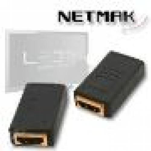 ADAPTADOR HDMI (H) A HDMI (H)  NETMAK