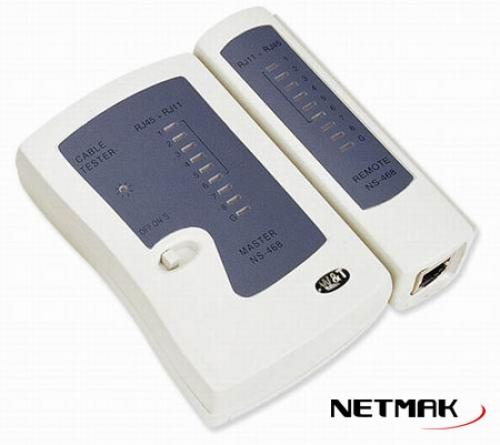 TESTER LAN RJ45, RJ11  NM-R05  NETMAK