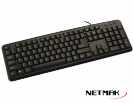 TECLADO ESTANDARS USB  NETMAK  NM-KB586U