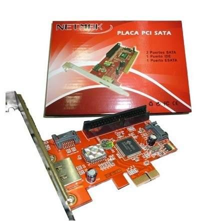 PLACA PCI SATAA+IDE  NM-6421