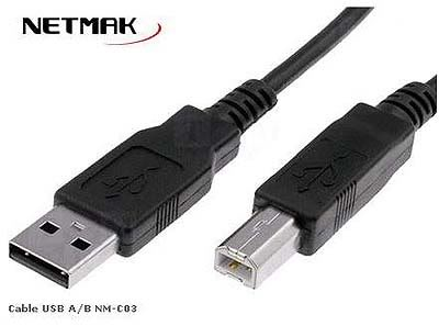 Cable Usb Printer A/B 1.8 NM-C03 1.8