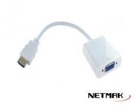 CONVERSOR  HDMI A VGA  NM-C81