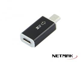 ADAPTADOR MICRO USB 5P (H) A USB 11P (M)  NM-C87