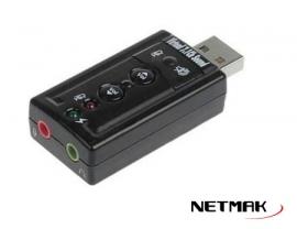 ADAPTADOR SONIDO USB 7.1 CH  NM-SU8CH