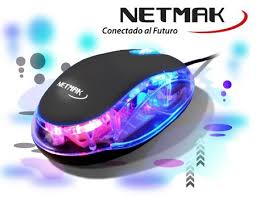MOUSE LUMINOSO USB SILVER  NM-M01S