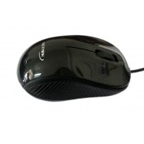 MOUSE OPTICO USB 3D BLACK  NETMAK   NM-M16