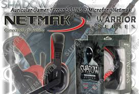 AURICULARES SHADOW Gamer C/Mic Terror Sound