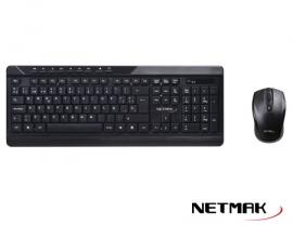 TECLADO + MOUSE COMBO NETMAK NM-KB460