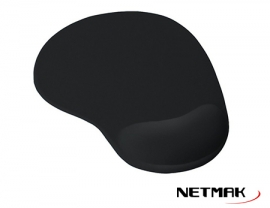 MOUSE PAD GEL BLACK NM-PGEL