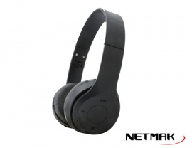 AURICULAR BLUETOOTH NEGRO PLEGABLE NM-PALM
