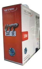 ROLLO CABLE EXTERIOR UTP CAT 5 100M NM-UTP2