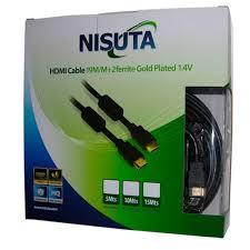 CABLE HDMI 20M DORADO V1.4 CON FILTROS CAHDMI20C