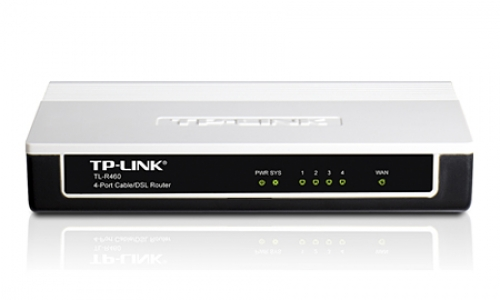 TL-R460 ROUTER 4P TP-LINK ADV. FIREWAL