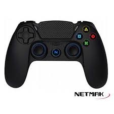 GAMEPAD PS4 BLUETOOTH RETROILUMINADO NM-2075