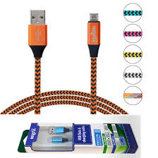 CABLE MICRO USB DE 1M DE 2.1A CON MALLA CATEMI