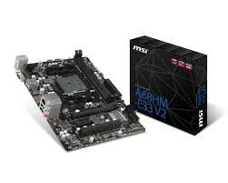 MOTHER MSI FM2+ A68HM-E33 V2 M-ATX BOX VGA/HDMI-PCI