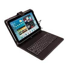 FUNDA TABLET 10 C/TECLADO MICRO USB NEGRO NM-TABLETY