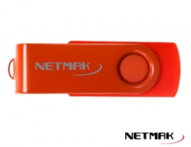 PENDRIVE USB16GB - ROJO NM-16GB RO