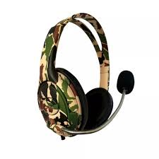 AURICULAR GAMER PS4 CAMUFLADO BATTLE