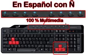 TECLADO GENIUS KB-G235 BLK SP GAMING