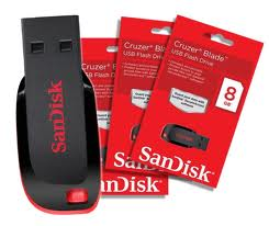 PENDRIVE  USB 8GB SANDISK