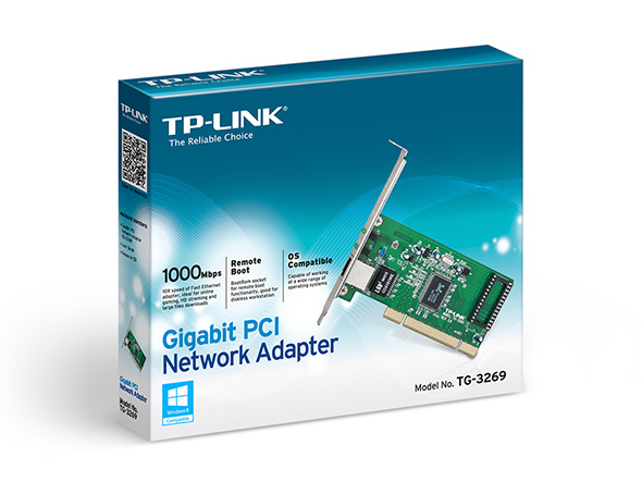TG-3269 P.Red Gigabit Tp-Link PCI