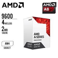 CPU AMD APU A8 9600 65W 3.4GHZ 2MB CACHE