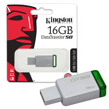 PEN DRIVE KINGSTON 16 GB DT50