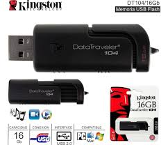 PEN DRIVE KINGSTON 16GB 2.0 DT104
