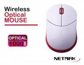 MOUSE WIRELESS 2.4 GH PINK  NETMAK  NM-NW32P