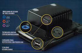 ESTABILIZADOR TRV C/USB CARGADOR