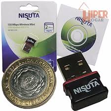 PLACA DE RED INALABRICA NANO 150 MBPS WIU153N