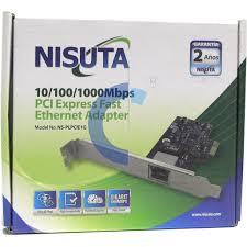 PLACA DE RED PCIE 10/100/1000 MBPS PLPCIE1G