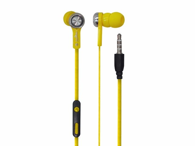 AURICULAR MINI TIPO IN-EAR AMARILLO AU19Y
