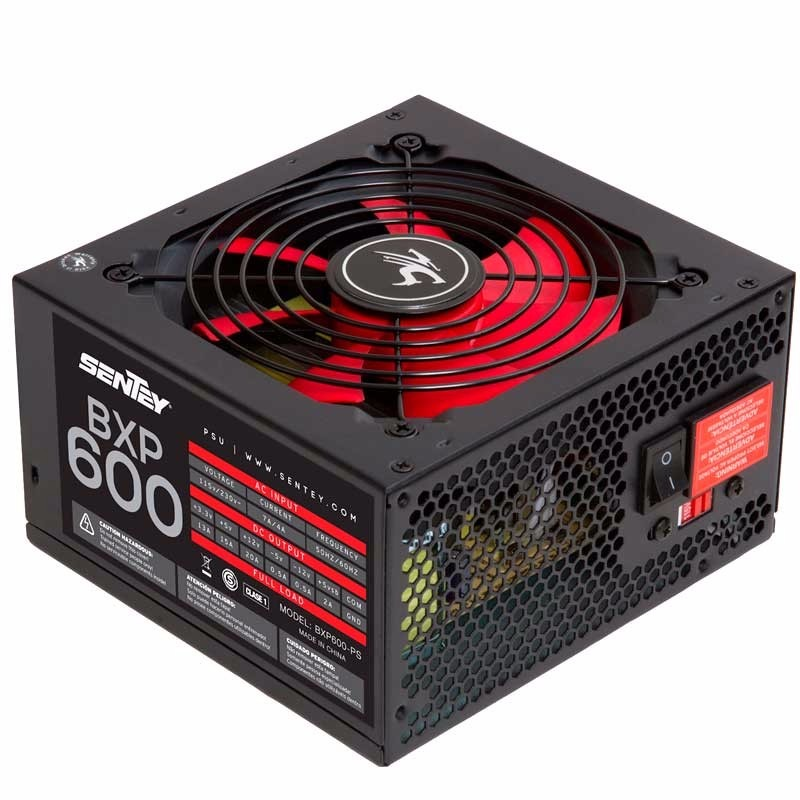 FUENTE SENTEY 600W  LNX600-LS