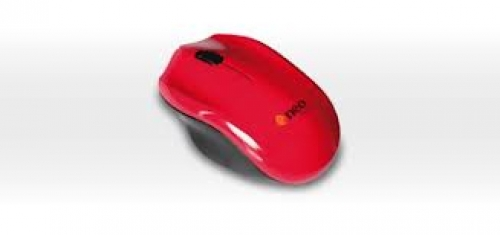 MOUSE NEGO M928 USB ROJO