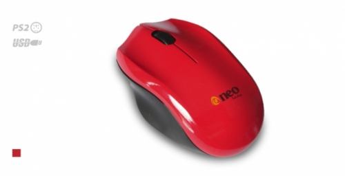 MOUSE NEO M928 PS2 ROJO
