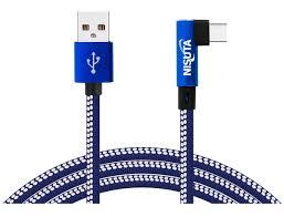 CABLE USB 2.0 A USB C 90GRADOS DE 1M 2.1 AMPER CATEUC9